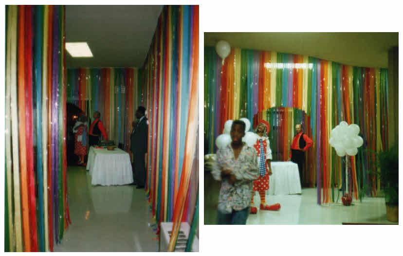 I Designed This Ribbon Curtain For The National Urban Leagueu0027s Annual  Conference, And Supervised Its Manufacture. The Event Was At A Historical  Civil Rights ...